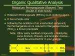 organic qualitative analysis25