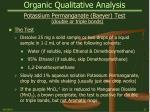 organic qualitative analysis26