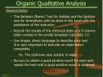 organic qualitative analysis8