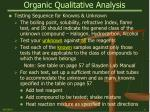 organic qualitative analysis9