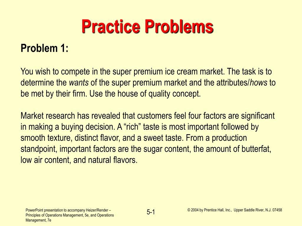 practice problems l.