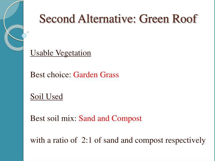 Usable Vegetation