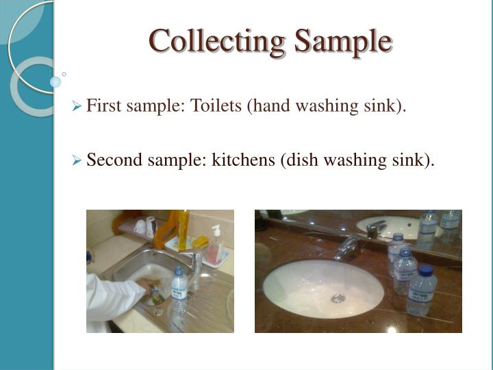 First sample: Toilets (hand washing sink).