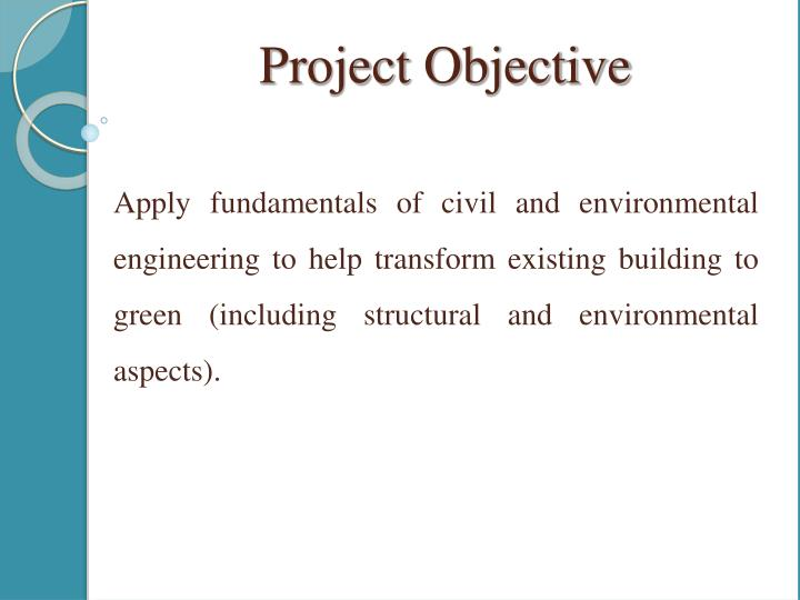 Project Objective