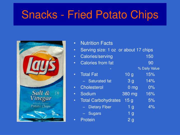 Snacks fried potato chips2