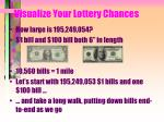 visualize your lottery chances