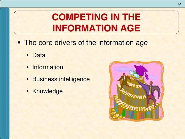 Competing in the information age1