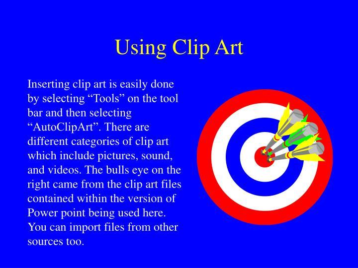 Using Clip Art