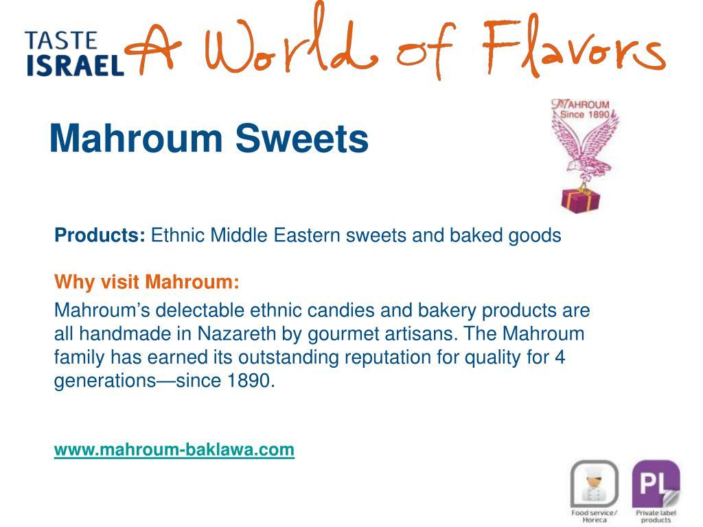 Mahroum Sweets