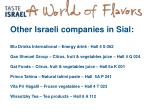 other israeli companies in sial