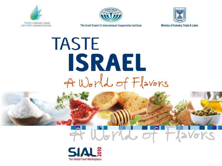 Israeli exhibitors at sial exhibition 2010 in france 1
