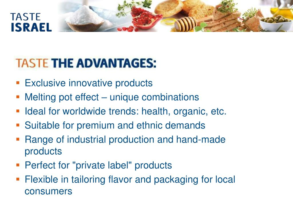 Exclusive innovative products