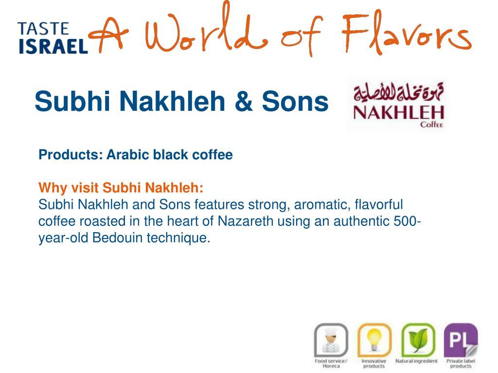 Subhi Nakhleh & Sons