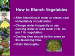 how to blanch vegetables33