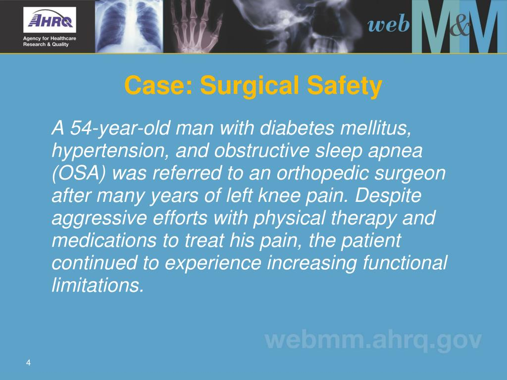 Case: Surgical Safety