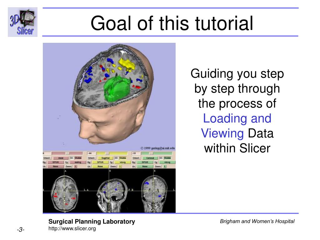 Goal of this tutorial