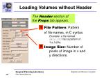 loading volumes without header26