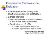 preoperative cardiovascular evaluation24