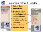 volumes without header53