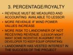 3 percentage royalty1