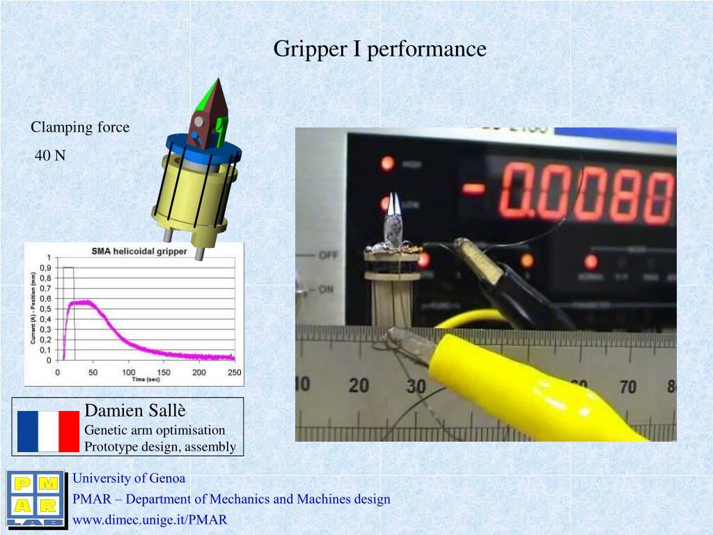 Gripper I performance