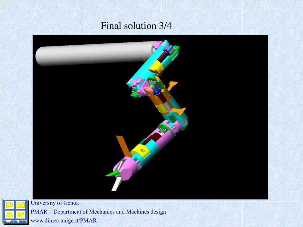 Final solution 3/4