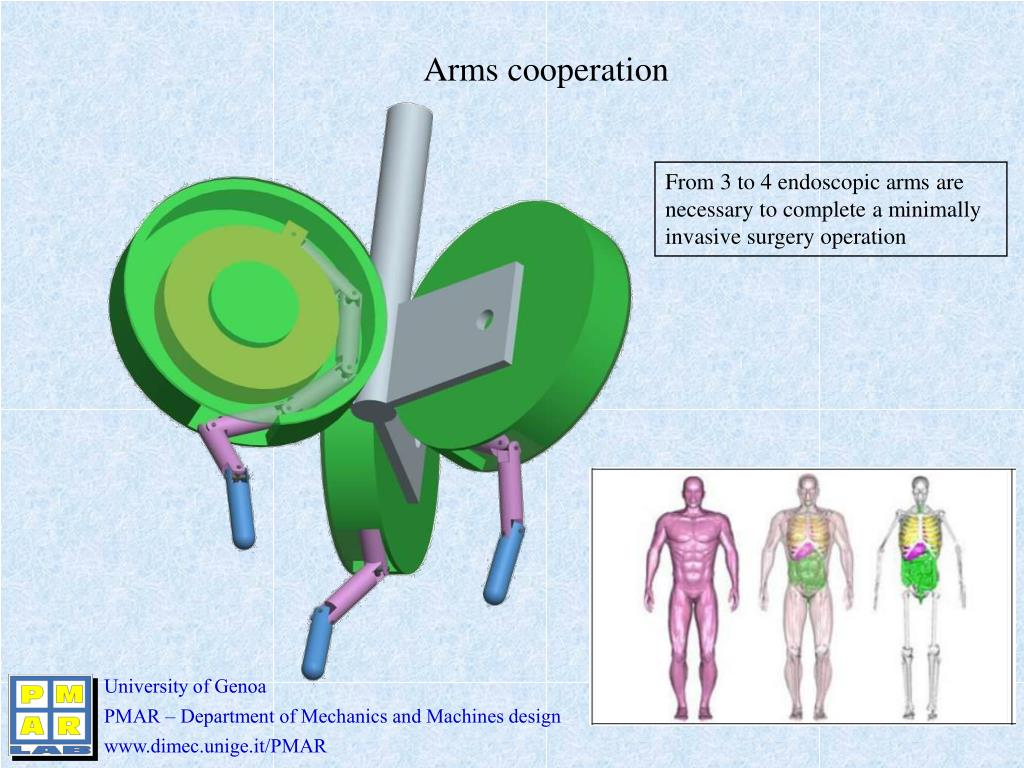 Arms cooperation