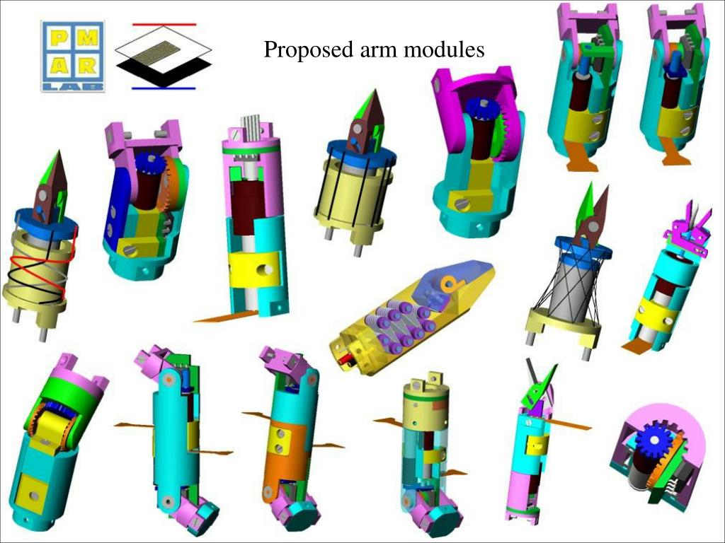 Proposed arm modules