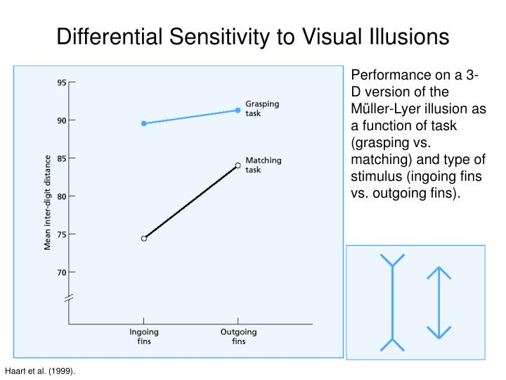 Differential Sensitivity to Visual Illusions