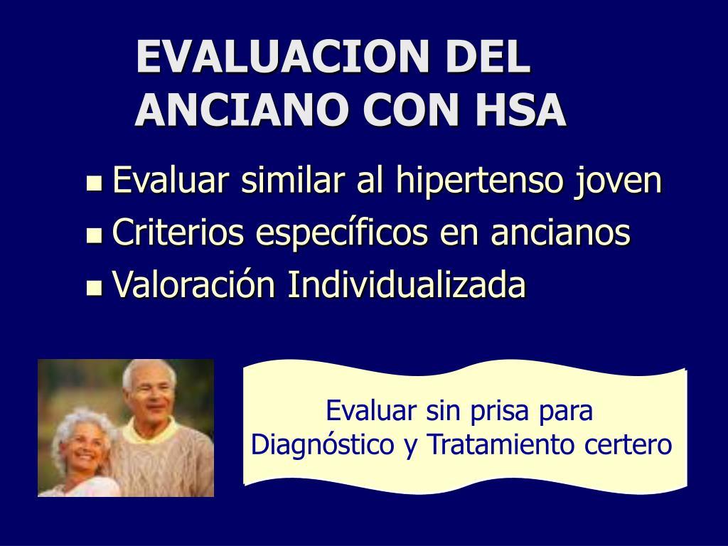 PPT - Hipertensión Sistólica Aislada en el Anciano..