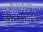 elections parties