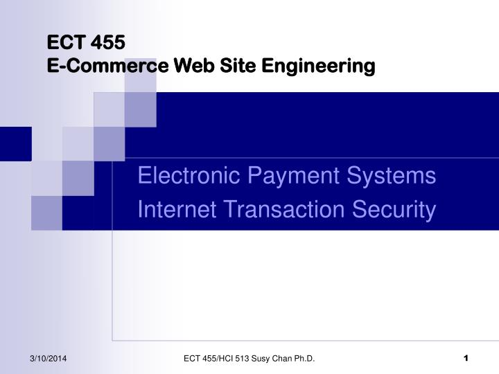 ect 455 e commerce web site engineering n.