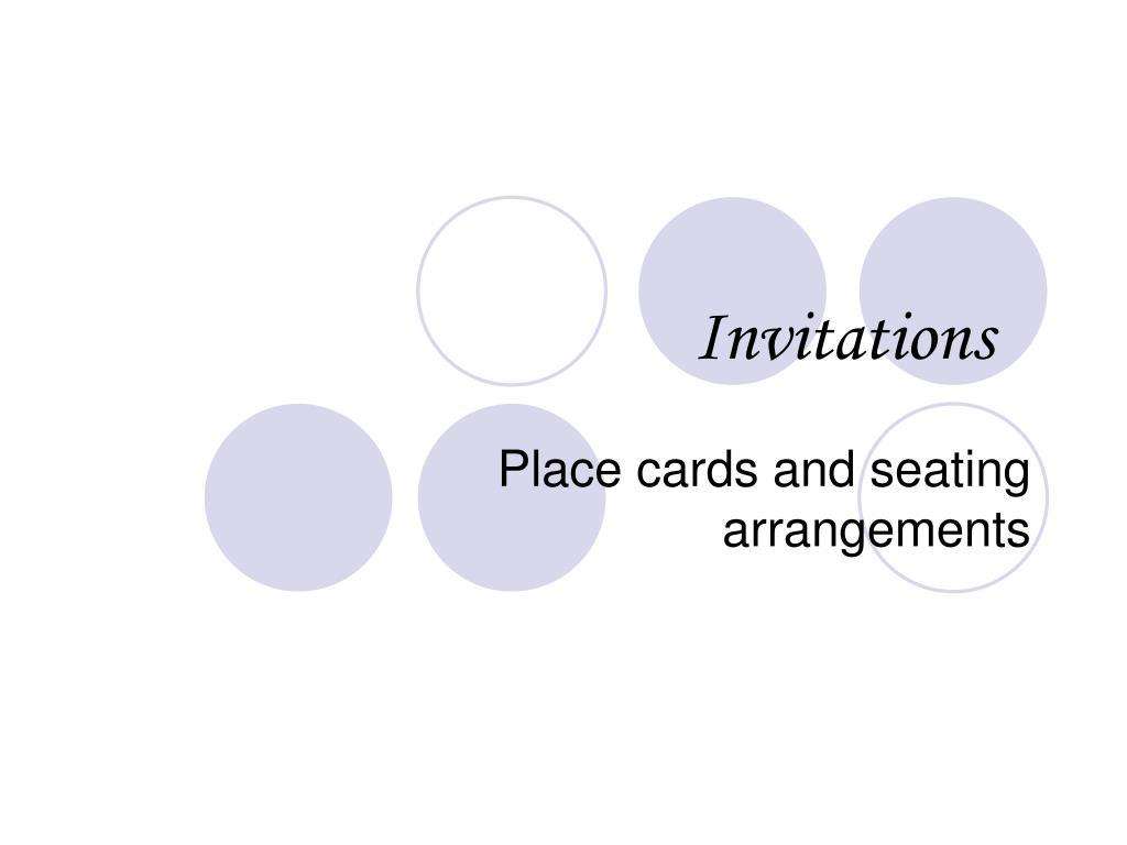invitations l.