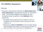 the pm noc regulations10