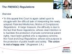 the pm noc regulations13