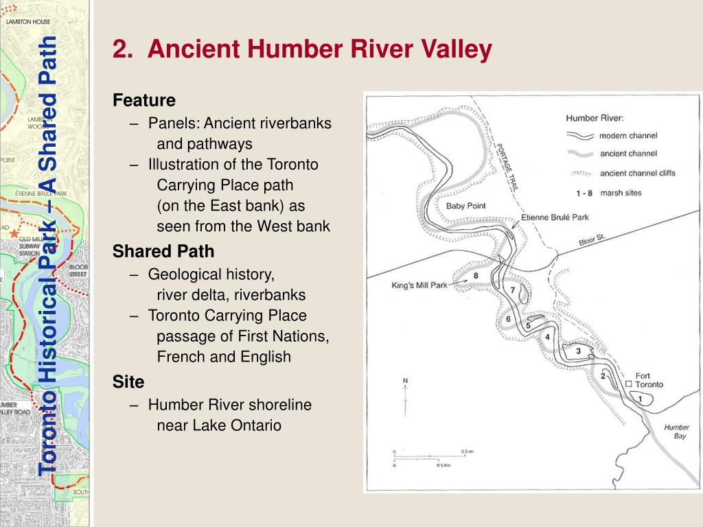 2.  Ancient Humber River Valley
