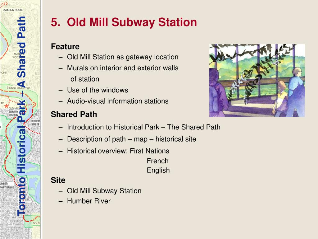 5.  Old Mill Subway Station