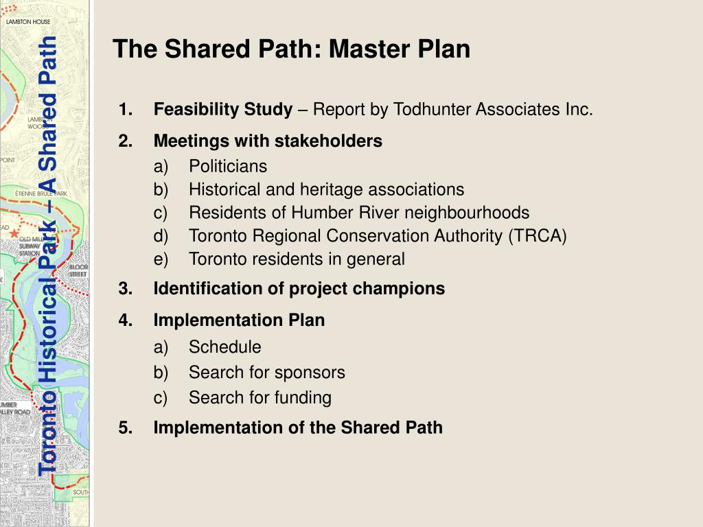 The Shared Path: Master Plan