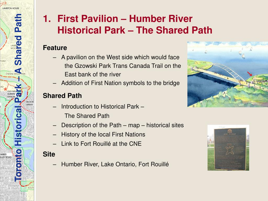 First Pavilion – Humber River