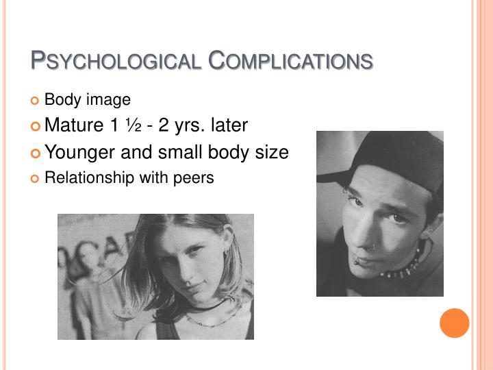Psychological Complications