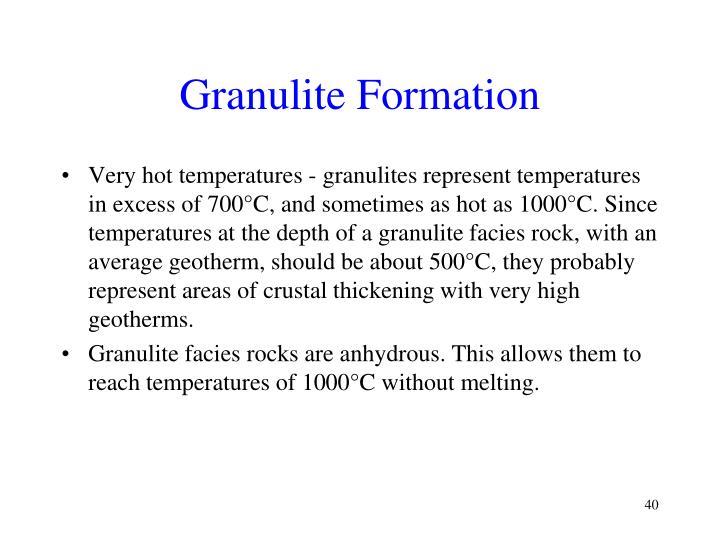 Granulite Formation