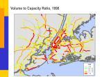 volume to capacity ratio 1998
