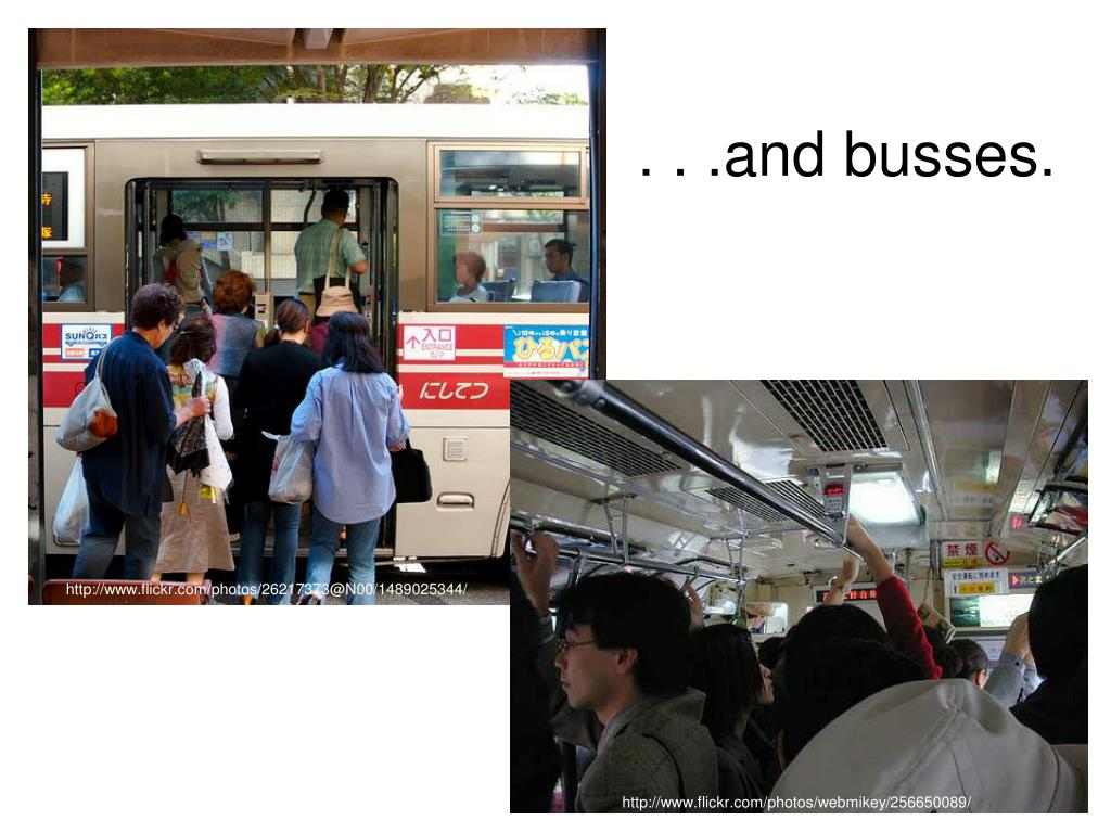 . . .and busses.
