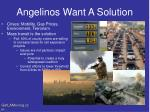 angelinos want a solution
