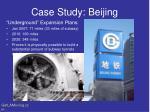 case study beijing