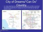 city of dreams can do country