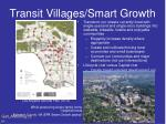 transit villages smart growth