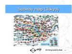 subway map tokyo