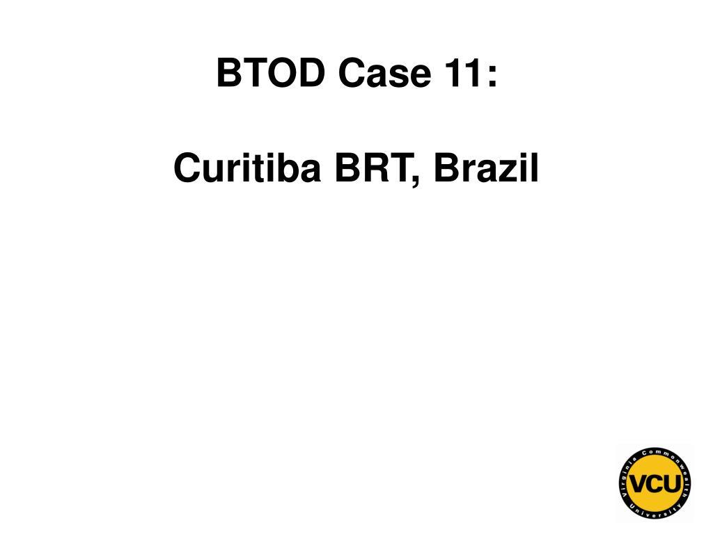 BTOD Case 11: