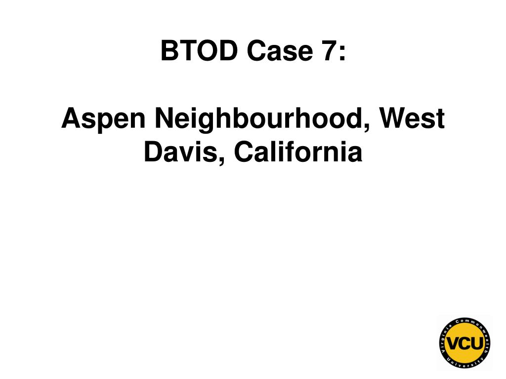 BTOD Case 7: